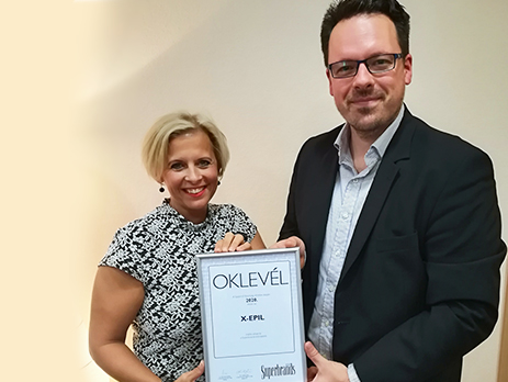 Superbrands-díj-xepil
